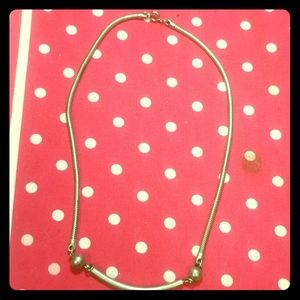 Vintage Silver Tone necklace